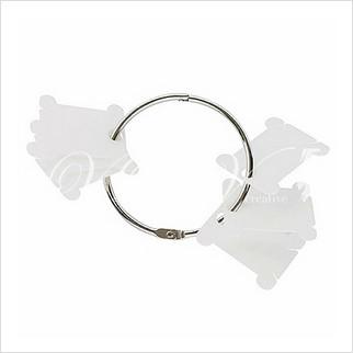 Металлическое кольцо с бобинами
