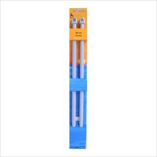 Спицы прямые 40 см-12 мм