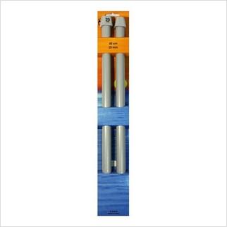 Спицы прямые 40 см-20 мм