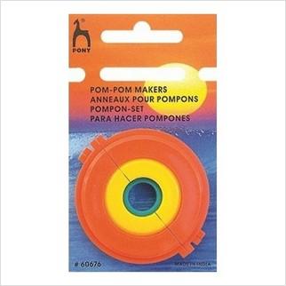 Набор для создания помпонов диаметром 3.5-5-7.5 см