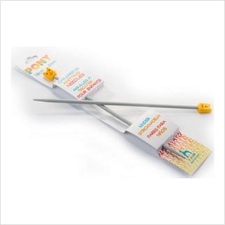 Спицы прямые детские 18 см-4 мм