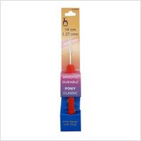 Крючок для вязания 14 см-1.25 мм