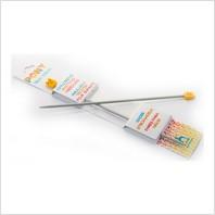 Спицы прямые детские 18 см-3.25 мм