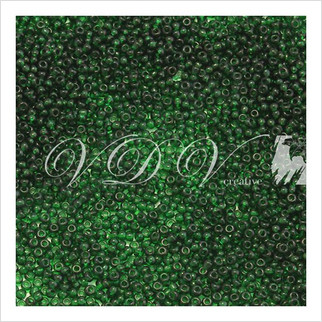 Бисер 6/0 № 6021 / 50120 (прозрачный)