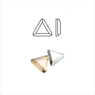Клеевые стразы Triangle 6 мм