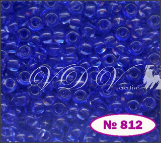 Бисер 10/0 № 812 / 01131 (кристаллический)