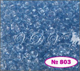 Бисер 10/0 № 803 / 01232 (кристаллический)