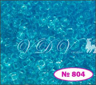 Бисер 10/0 № 804 / 01234 (кристаллический)