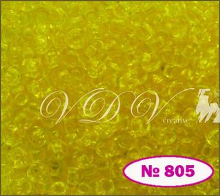 Бисер 10/0 № 805 / 01281 (кристаллический)
