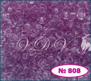 Бисер 10/0 № 808 / 01292 (кристаллический)