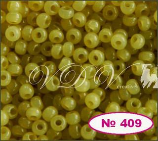 Бисер 10/0 № 409 / 02151 (алебастровый)