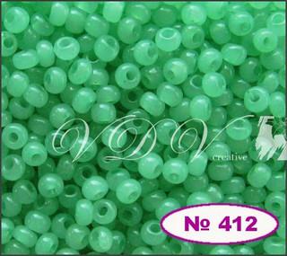 Бисер 10/0 № 412 / 02161 (алебастровый)