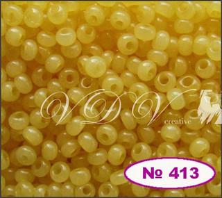 Бисер 10/0 № 413 / 02181 (алебастровый)