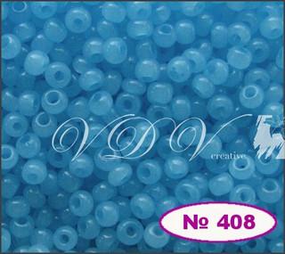 Бисер 10/0 № 408 / 02234 (алебастровый)