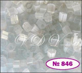 Бисер 10/0 № 846 / 05051 (сатин)