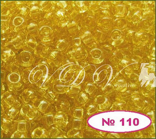 Бисер 10/0 № 110 / 10020 (прозрачный)