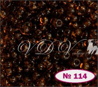 Бисер 12/0 № 114 / 10140 (прозрачный)