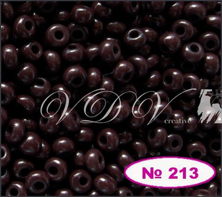Бисер 10/0 № 213 / 13780 (натуральный)