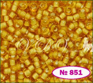 Бисер 10/0 № 851 / 15056 (мелованный)