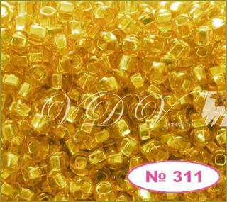 Бисер 10/0 № 463 / 17050 (блестящий с квадратной серединкой)