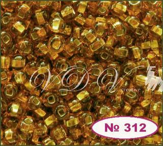 Бисер 10/0 № 464 / 17070 (блестящий с квадратной серединкой)