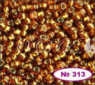 Бисер 10/0 № 465 / 17090 (блестящий с квадратной серединкой)