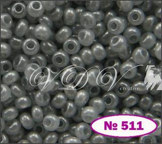 Бисер 10/0 № 511 / 17708 (перламутровый)