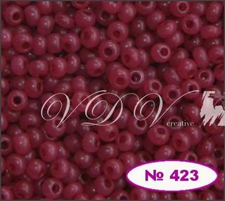 Бисер 10/0 № 423 / 17899 (алебастровый)