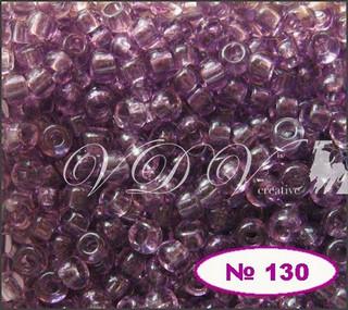 Бисер 10/0 № 130 / 20010 (прозрачный)