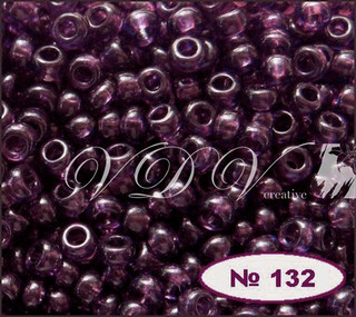 Бисер 10/0 № 132 / 20080 (прозрачный)