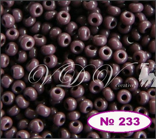 Бисер 10/0 № 233 / 23040 (натуральный)