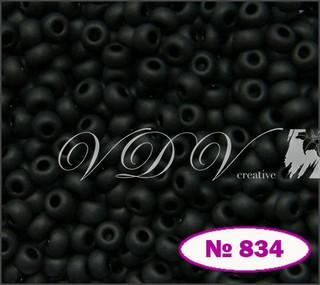 Бисер 10/0 № 834 / 23980 (натуральный матовый)