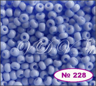 Бисер 10/0 № 228 / 33000 (натуральный)