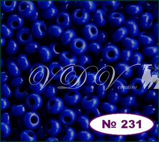 Бисер 10/0 № 231 / 33050 (натуральный)