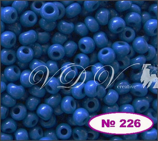 Бисер 11/0 № 226 / 33210 (натуральный)
