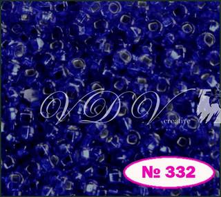 Бисер 10/0 № 474 / 37100 (блестящий с квадратной серединкой)