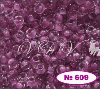 Бисер 10/0 № 609 / 38325 (прокрашенный)