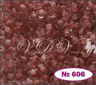 Бисер 10/0 № 606 / 38395 (прокрашенный)