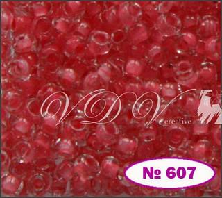 Бисер 10/0 № 607 / 38397 (прокрашенный)