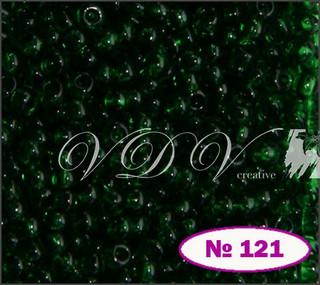 Бисер 10/0 № 121 / 50060 (прозрачный)