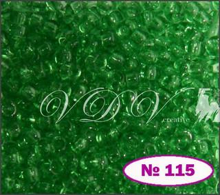 Бисер 10/0 № 115 / 50100 (прозрачный)