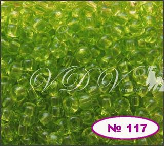 Бисер 10/0 № 117 / 50220 (прозрачный)