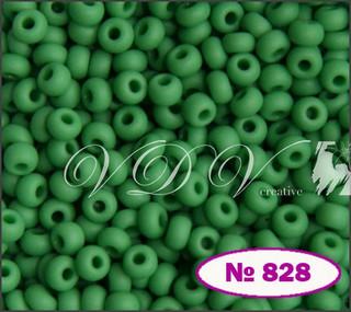 Бисер 10/0 № 828 / 53250 (натуральный матовый)
