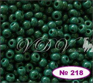 Бисер 10/0 № 218 / 53270 (натуральный)