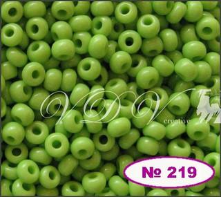 Бисер 10/0 № 219 / 53310 (натуральный)