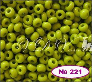 Бисер 10/0 № 221 / 53430 (натуральный)