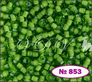 Бисер 10/0 № 853 / 55436 (мелованный)