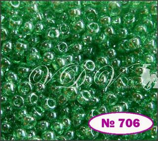 Бисер 10/0 № 706 / 56100 (глазурированный)