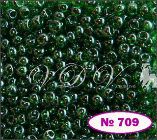 Бисер 10/0 № 709 / 56120 (глазурированный)