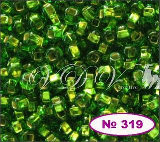 Бисер 12/0 № 319 / 57430 (блестящий)